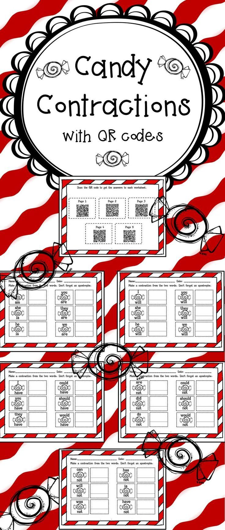the 25  best contraction worksheet ideas on pinterest