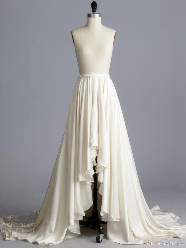 della giovanna bridal separates fall 2014 aaron skirt