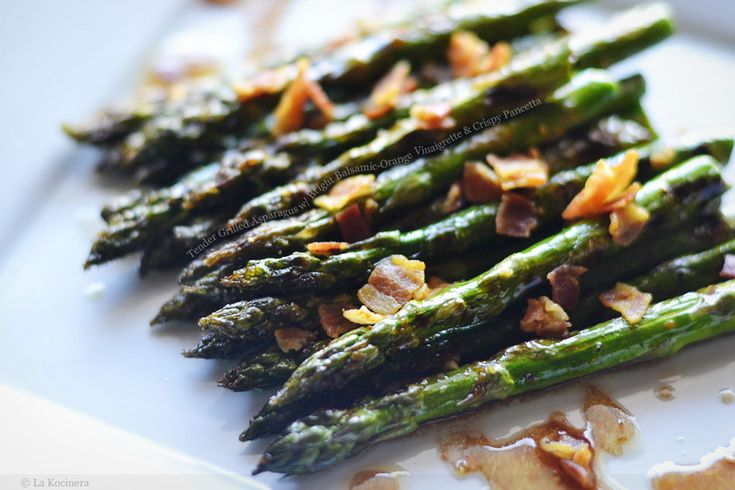 Tender Grilled Asparagus with Bright Balsamic-Orange Vinaigrette and ...