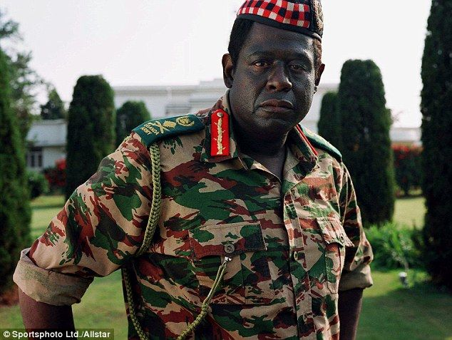 Forest Whittaker picked up his best actor Oscar for playing dictator Idi Amin in The Last King of Scotland
