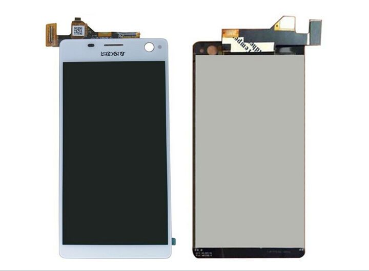 LCD Display+Touch Screen Digitizer for SONY XPERIA C4 OG (White)  | eBay