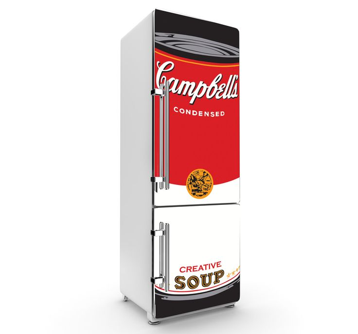 Sticker frigo Campbells