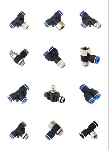 Three-Ways Connectors