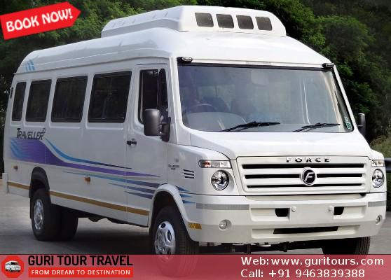 Rent #Tempo #Traveller in #Chandigarh Guri Tour Journey at Lowest Worth. On-line B…