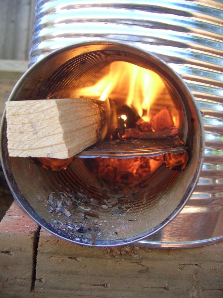 Estufa cohete -- Hazla y a cocinar!! - Taringa!
