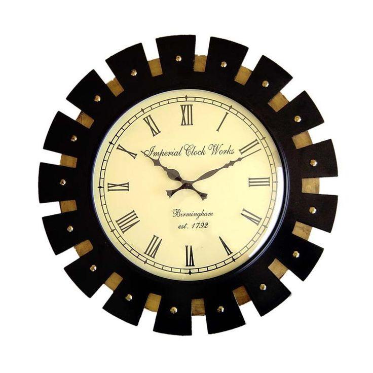 buy contemporary wall clocks online chennai myiconichome - Designer Wall Clocks Online