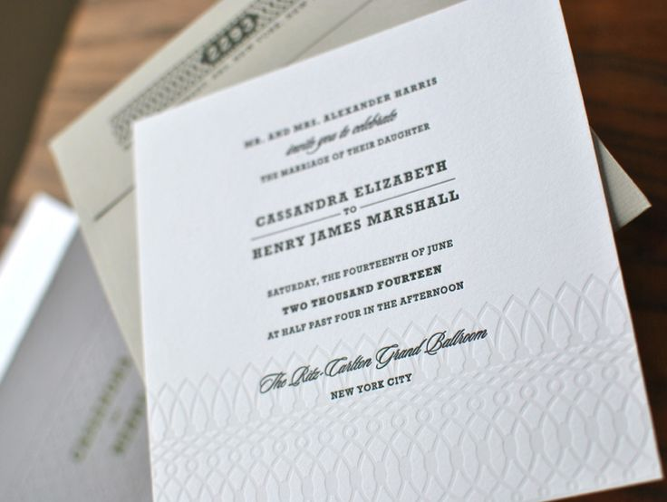 17 best a very letterpress wedding images on pinterest lovely white letterpress wedding invitations by luscious verde cards in case you didnt filmwisefo Gallery