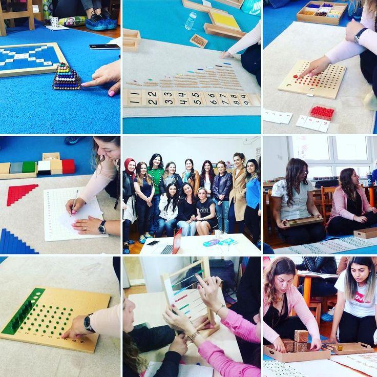 Okulumuzda, Montessori Eğitim Derneği tarafından verilen Montessori Eğitmenlik Eğitimi devam ediyor. Bu hafta Ferdane hocamızı misafir ettik. Tam donanımlı bir şekilde sınıflarımızda bulunan materyallerimizle uygulamalar yaptık. Ferdane hocamıza verdiği katkılardan dolayı teşekkür ederiz.  Montessori sisteminin daha çok çocuğa ulaşması için elimizden her ne geliyor ise her zaman yapmaya devam edeceğiz.���� #montessori #cevizagacimontessori #eğitmenlik #eğitim #anaokulu #okuloncesi  #çamlıca…