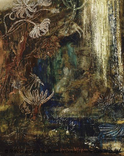 Gustave Moreau (1826-1898) Galatea,Circa 1880,Oil on wood,H.85.5;W.66 cm,Paris, Musée d'Orsay,bought with the help of Philippe Meyer,Japanese sponsorship coordinated by the daily newspaper Nikkei and the support of the Heritage Fund,1997.