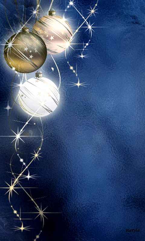 Download 480x800 «christmas balls» Cell Phone Wallpaper. Category: Holidays