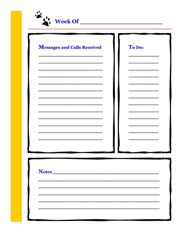 phone message templates