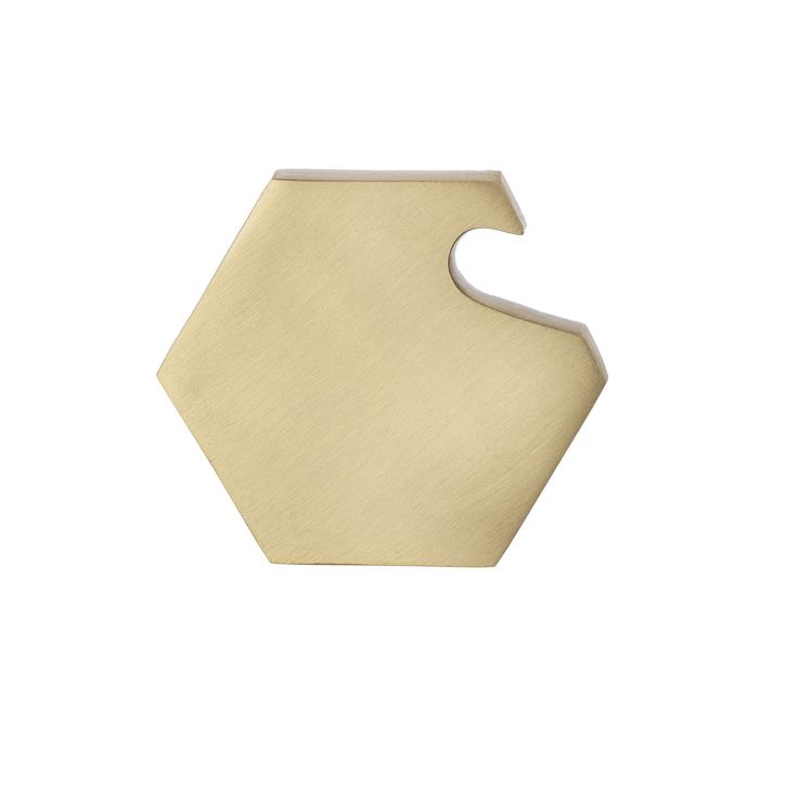 Purchase hexagon bottle opener designed by Ferm Living in Denmark. Dress up your kitchen and add a modern style to your dining table.
