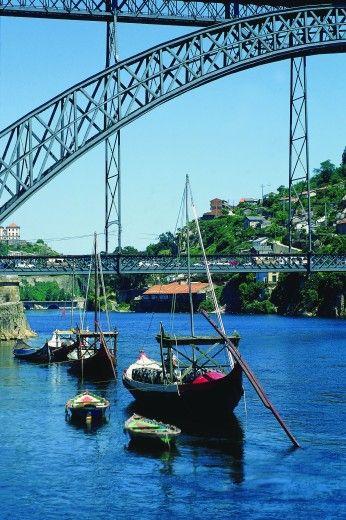 Ribeira con vista dal ponte de D. Luis