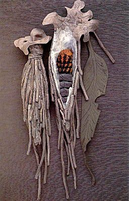 Annemieke Mein's Textile Sculptures: Case Moth Cocoons, Cultural Entomology Digest 4