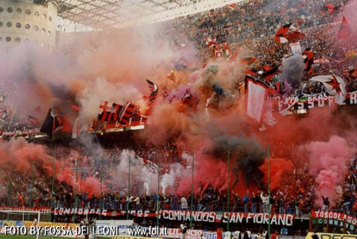 Milan (Fossa Dei Leoni, Commandos, Tigre)