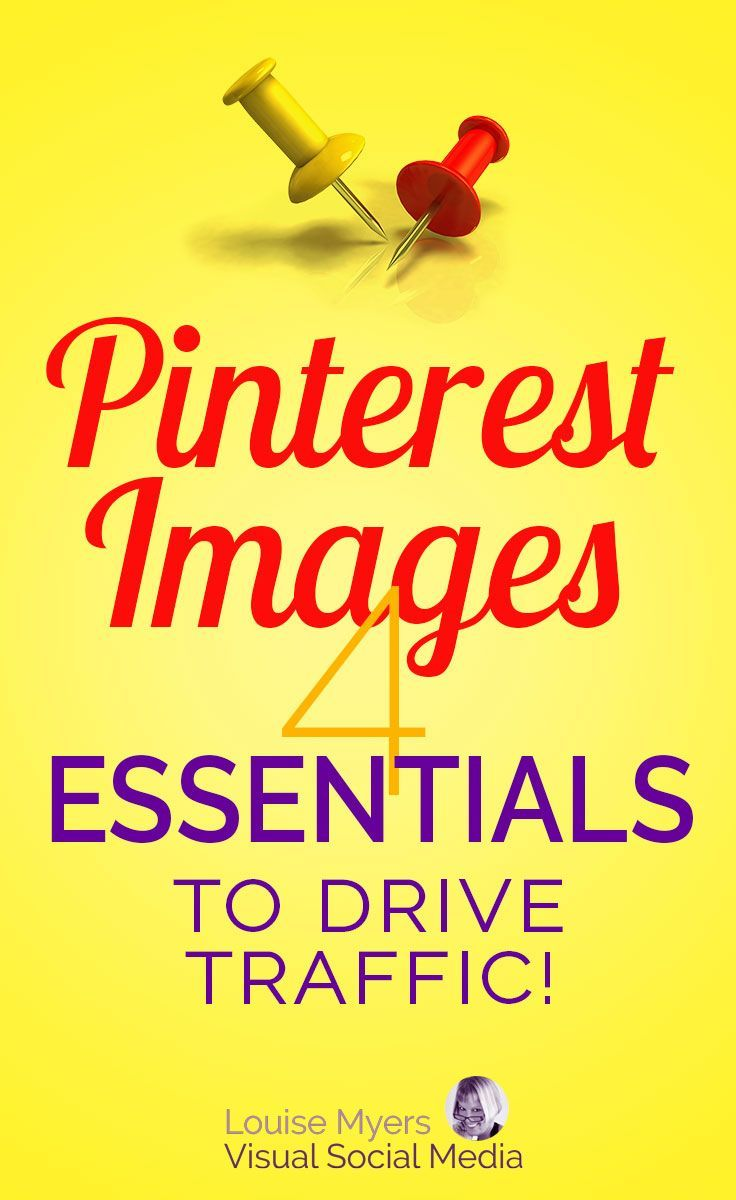 These Pinterest image essentials will help you make the BEST pins! Must-read EASY tips and tricks for small businesses, entrepreneurs, and bloggers to improve their Pinterest marketing. #pinteresttips #marketingtips