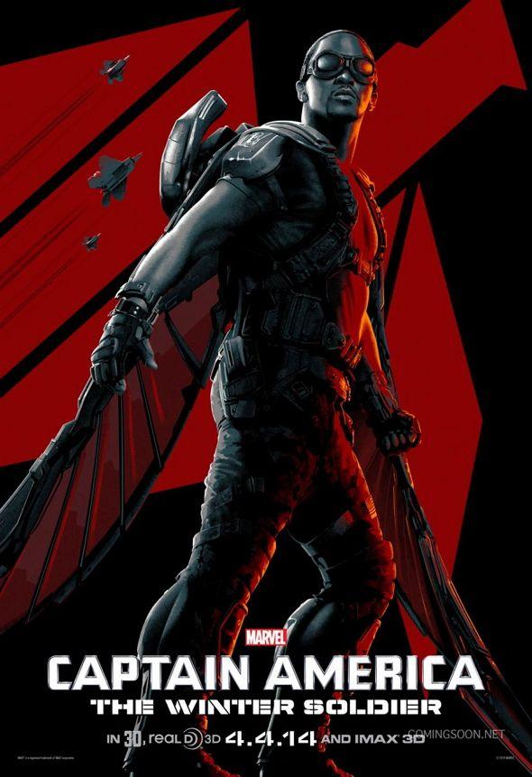 Póster para 'Capitán América: el soldado de Invierno'