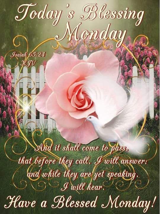 Monday Blessings Monday Blessings Monday Blessings Happy