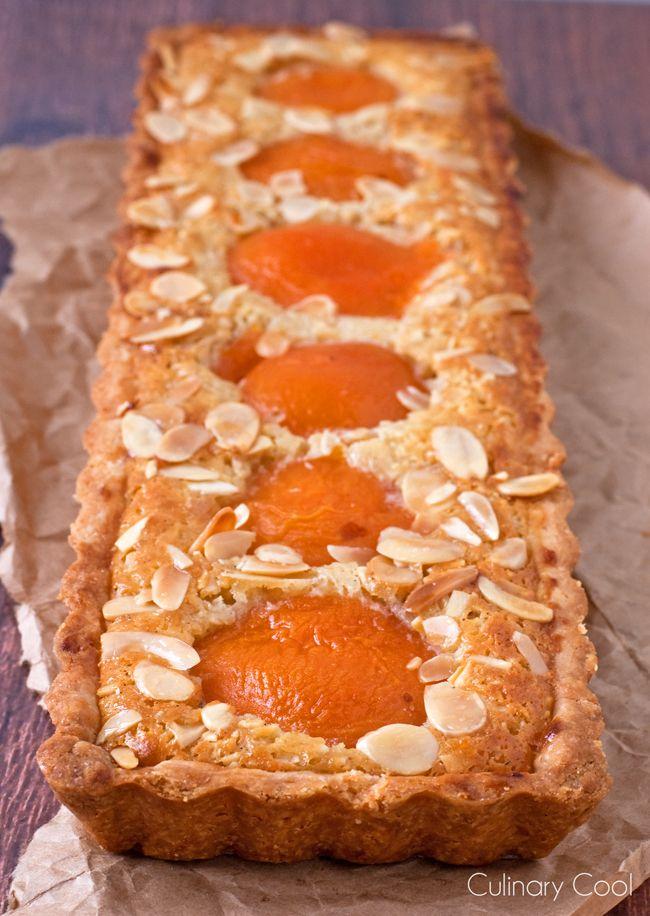 Almond Apricot Tart   Culinary Cool