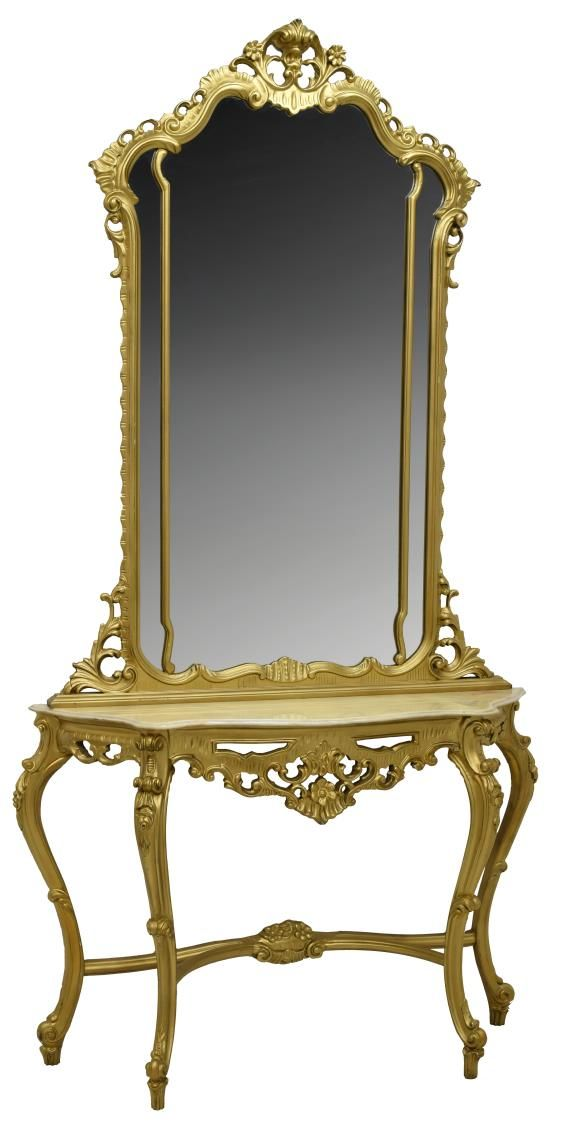Buy online, view images and see past prices for Late 19th century Louis XV Style Gilt-Bronze Dressing Table Mirror. Invaluable is the world's largest marketplace for art, antiques, and collectibles.