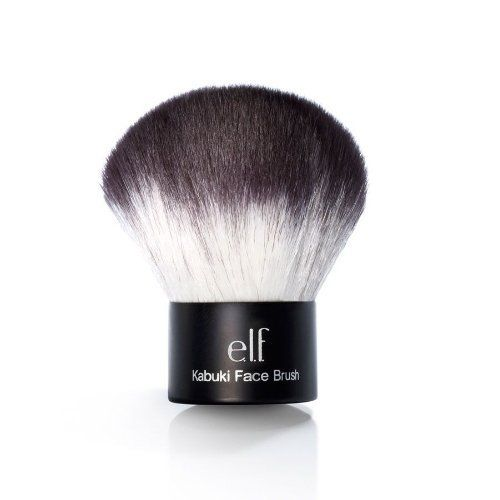 Studio kabuki face brush, 0.28 Ounce by e.l.f. Cosmetics. $6.00. Tested by our team of expert makeup professionals for the best quality. Why overpay when you can get the same quality for less. Sleek design great for travel or on the go. This anti bacterial, synthetic haired Taklon brush is softer and more absorbent and can be used with wet or dry products. Be a professional makeup artist and create a flawless look with this brush. Our handy and easy to use Kabuki Brus...