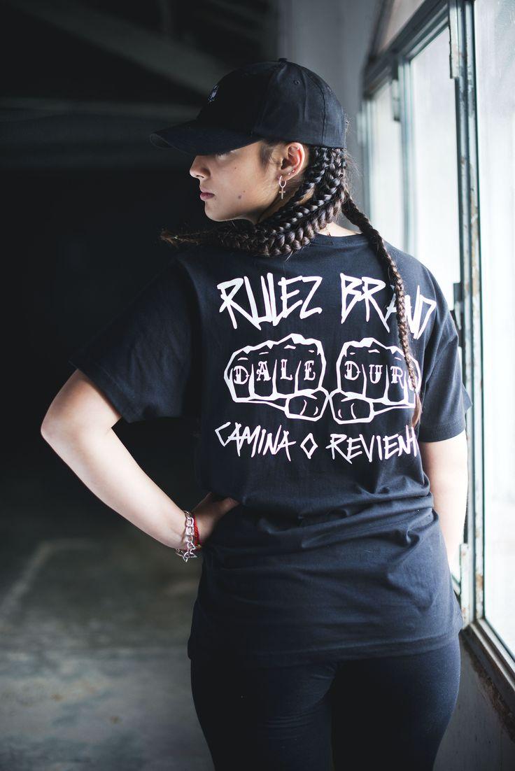Nueva camiseta Rulez Wear / Dale Duro Tienda de ropa hip hop