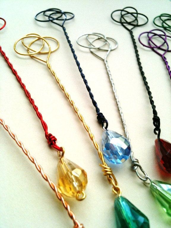 bubble wand or bookmark. Love it!