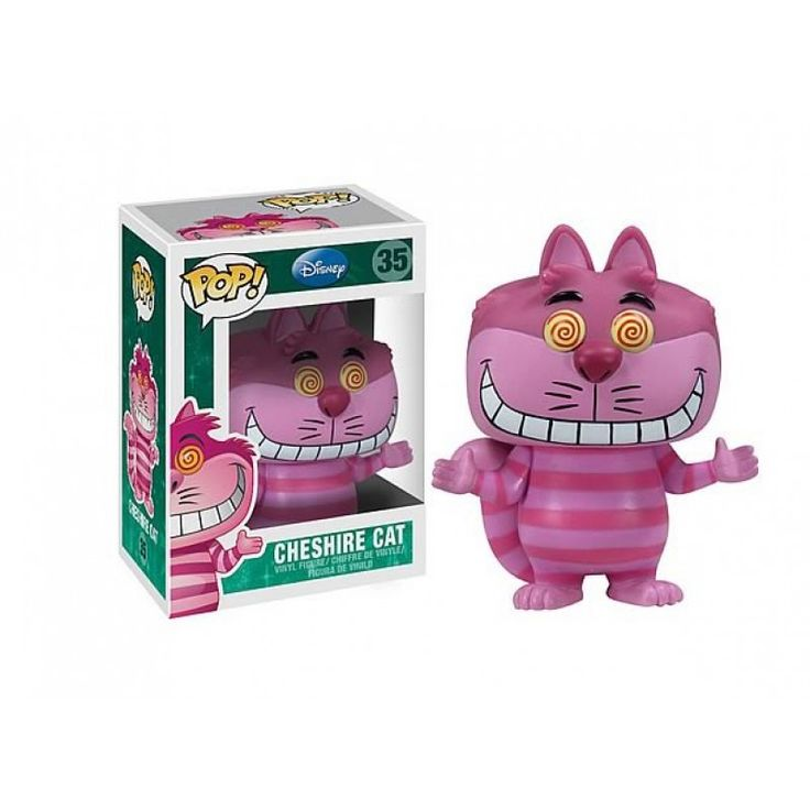 "POP Disney Bobble Head Cheshire Cat 3.75"" Figure 30 - Funko Toys Retired"