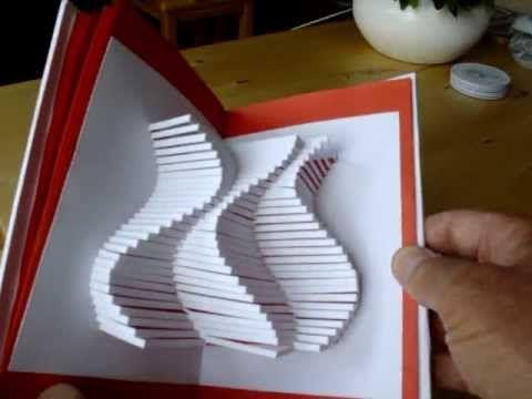 Kirigami Book 10(design Masahiro Chatani) - YouTube
