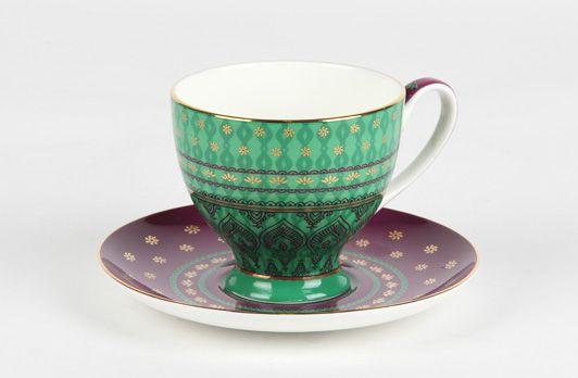 Sari Cup & Saucer Turquoise | T2 Tea
