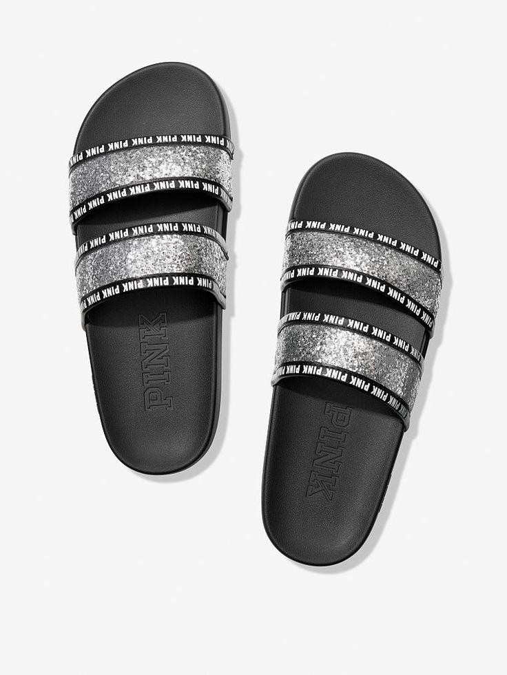 Double Strap Sport Slide Pink nike shoes, Pink sandals
