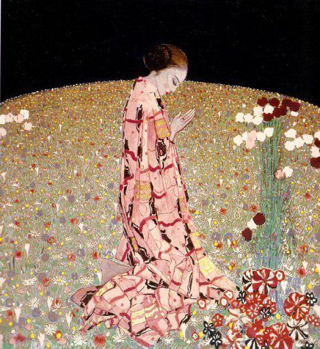 Felice Casorati, Preghiera The Prayer 1914