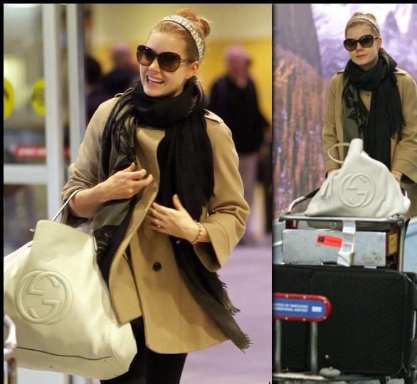 : Gucci Bags, Amy Adam, Airports Style, Gucci Soho, Fashion Bags, Handbags Style, Adam Style, Fashion Amyadam, Style Fashion