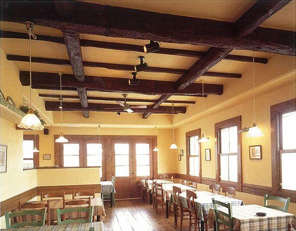 本物そっくりの装飾用アンティーク天井梁 装飾梁 室内装飾 オーク梁