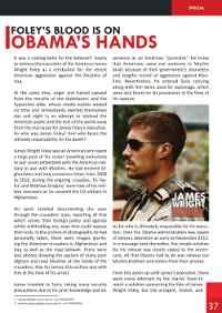Islamic State Magazine #Dabiq Reveals the Cause for James Foley's Execution #ISIS #ISIL #Islamicstate #Islamic