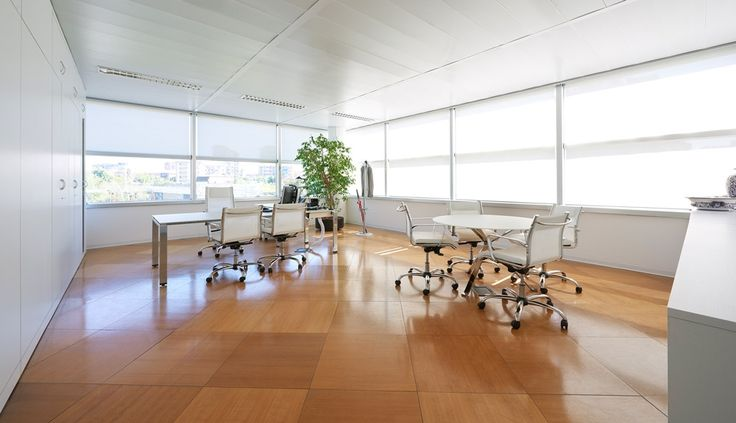 The Snam headquarters management offices in Milan provide a highly representative setting