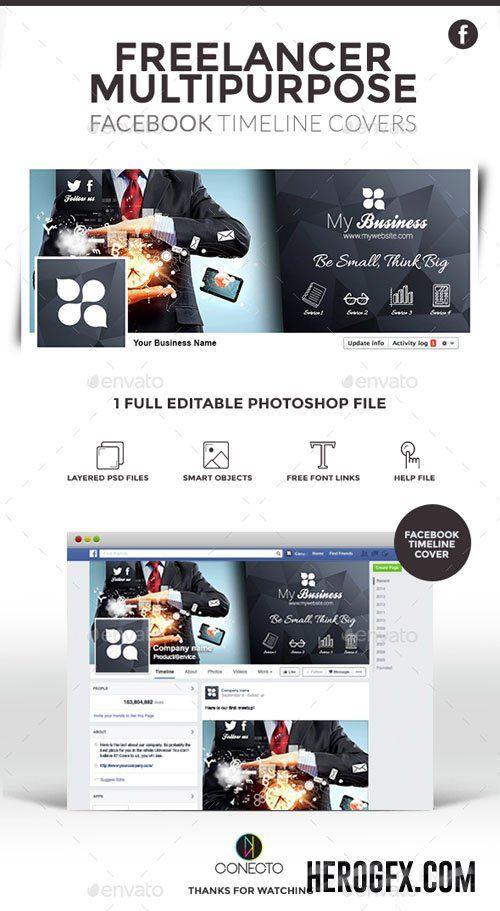 50 best Web Elements Social Media Facebook Timeline Covers images - timeline website template