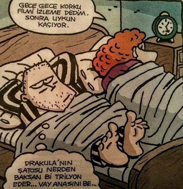 #korku #dracula #karikatür