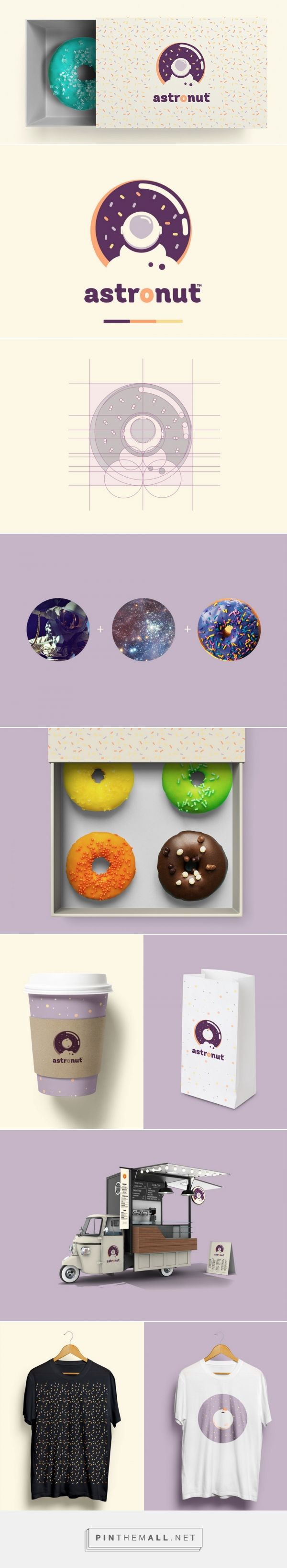 Astronut® Donuts from Outer space — The Dieline - Branding & Packaging - created via https://pinthemall.net