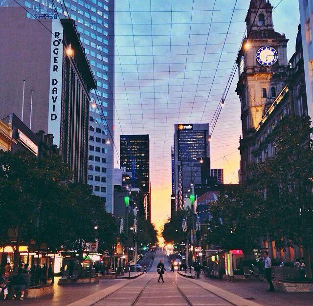 Bourke St. Melbourne