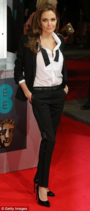 Doing it like a dude: Women wearing tuxedos is part of a rising fashion trend
