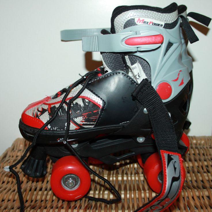 Blindside Senhai Max Power Adjustable Quad Red Black ...