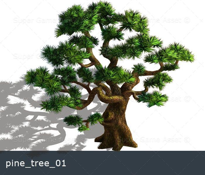 cartoon tree sprites