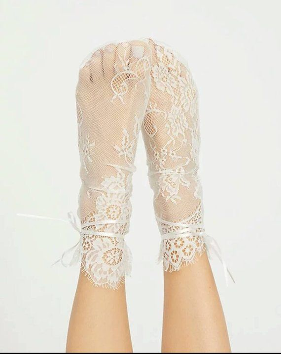 591c5d5700e21 White Lace Socks