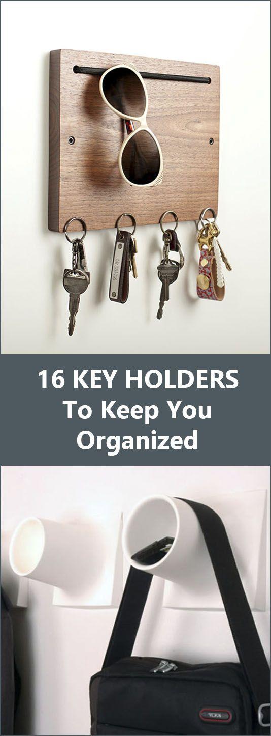 16 Key Holders To Keep You Organized //