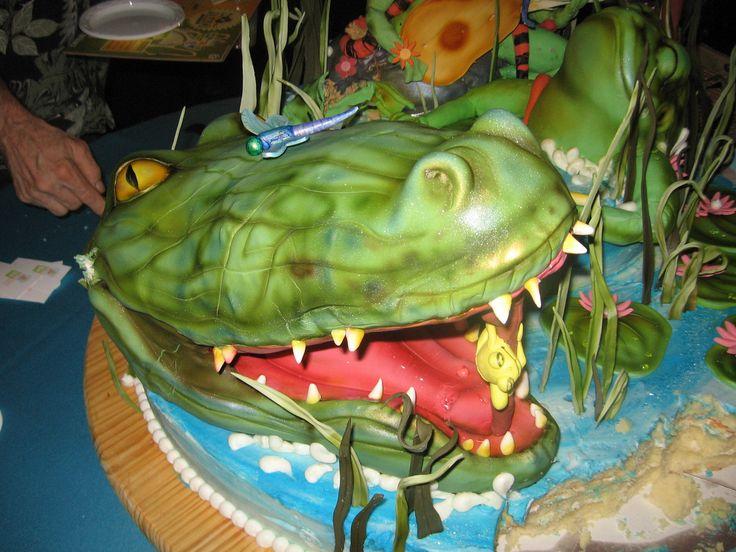 alligator cake | by Karen Portaleo:
