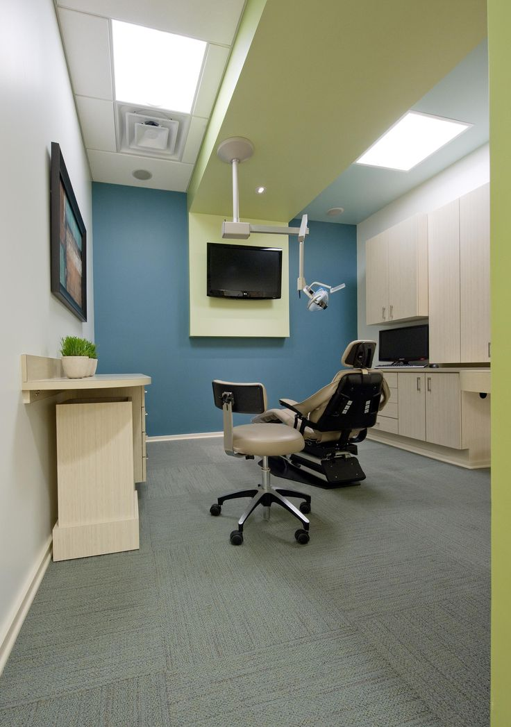 Clutter free dental office what a novel idea ideal for Ideal office layout