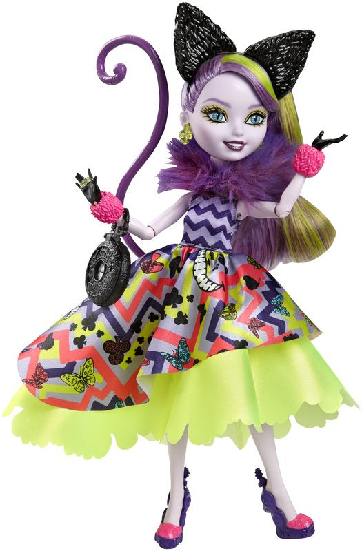 Ever After High Way Too Wonderland Kitty Cheshire Doll - Shop Ever After High Fashion Dolls, Playsets & Toys | Ever After High