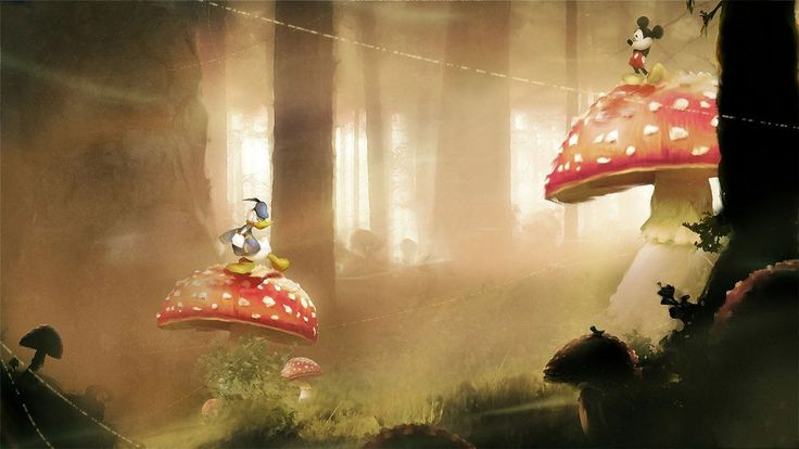 World of Illusion Starring Mickey Mouse and Donald Duck | This French Artist Transforms Classic Video Games Into Radical Illustrations
