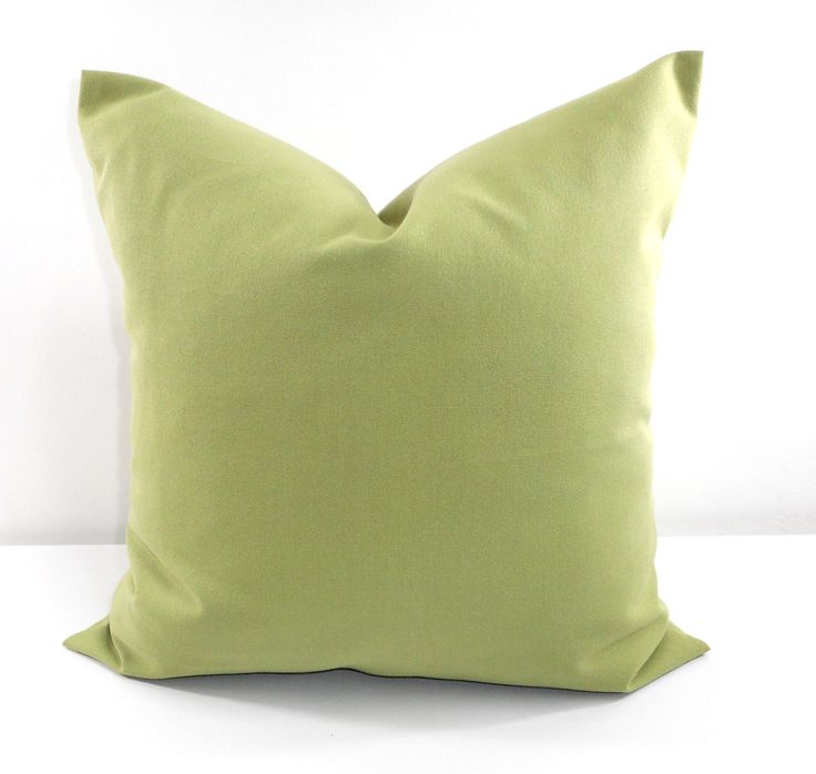 GREEN Pillow. Olive Green Pillow Cover. Solid color  Sham Pillow case.Designers pillow, cushion pillow cover. Select your size. by TwistedBobbinDesigns on Etsy